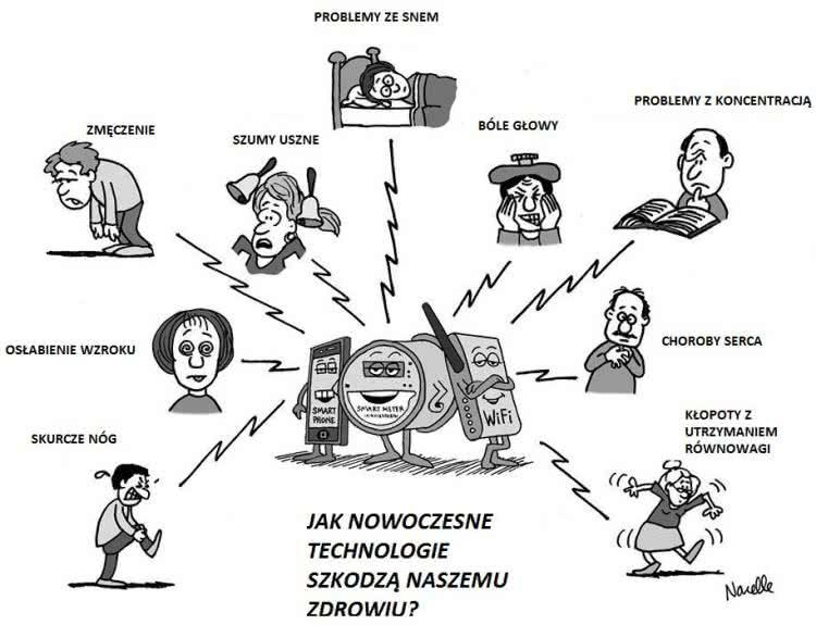 elektrosmog i internet przedmiot u00f3w  jak nam szkodzi