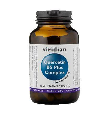 Na alergie Viridian Nutrition Kwercetyna B5 Plus Complex